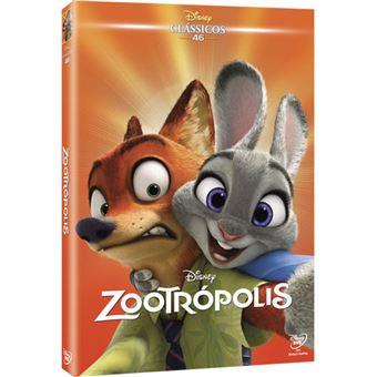 Zootropolis - Edição Clássicos Faces - DVD