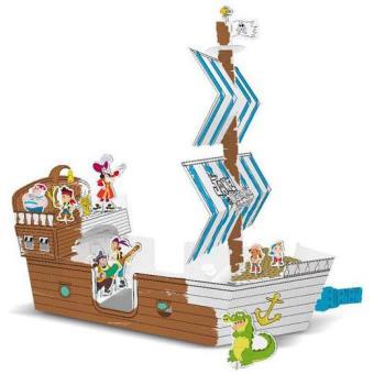 Jake E Os Piratas Da Terra Do Nunca Barco De Colorir Outras