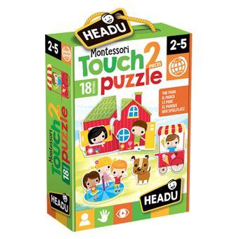 Puzzle Montessori Touch 2 Pieces: The Park - Headu