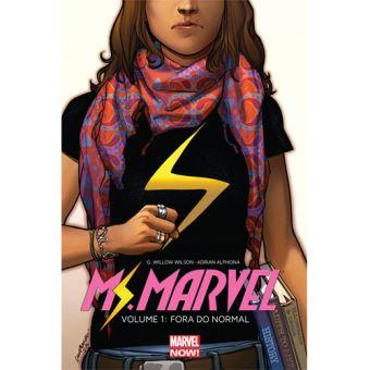 Ms. Marvel - Livro 1: Fora do Normal