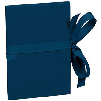 Álbum Para Fotografias Semikolon Leporello Pequeno Azul Escuro - 14 Fotografias