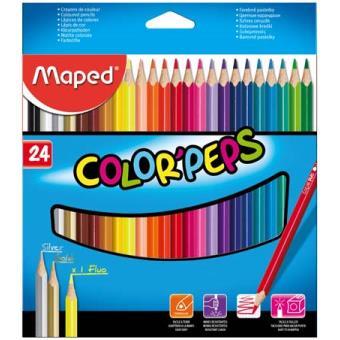 Lápis de Cor Maped Color'Peps - 24 Unidades