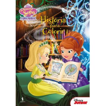 A Princesa Sofia As Ilhas Misticas Historia Para Colorir