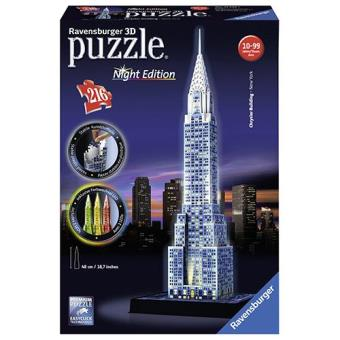 Puzzle 3D Chrysler Building Night Edition