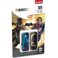 Emtec Batman Superman P2 16GB USB 2.0 Multi unidade de memória USB