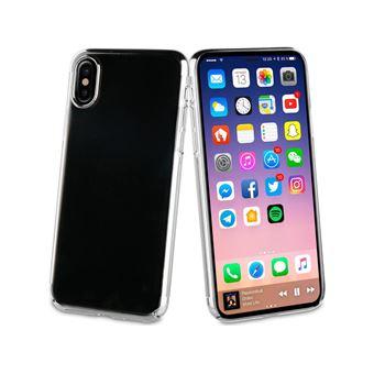 Capa Muvit Crystal para iPhone X - Prateada