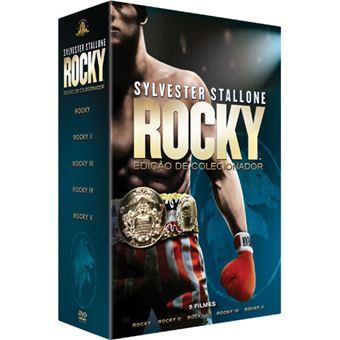 Pack Rocky - Coleção 5 Filmes - DVD - Exclusivo Fnac
