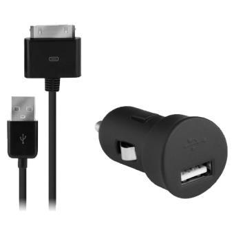Modelabs Carregador Isqueiro + Cabo Dados USB iPhone