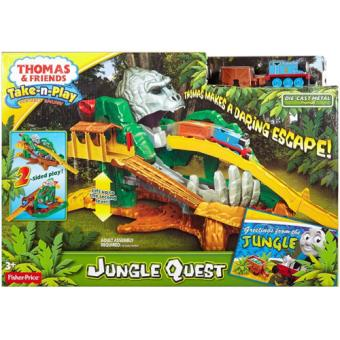 Thomas Pista Aventura na Selva Mattel