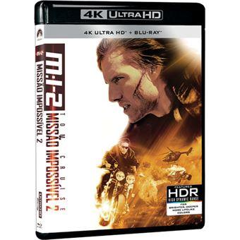 Missão Impossível 2 - 4K Ultra HD + Blu-ray