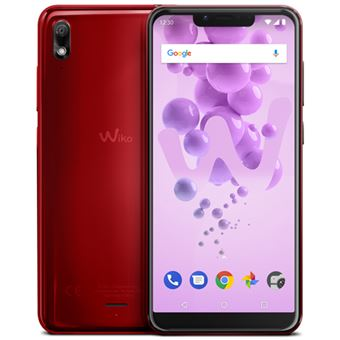 Smartphone Wiko View 2 GO - 16GB - Cherry Red
