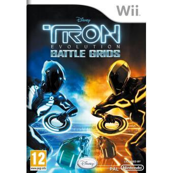 TRON: Evolution - Battle Grids Wii