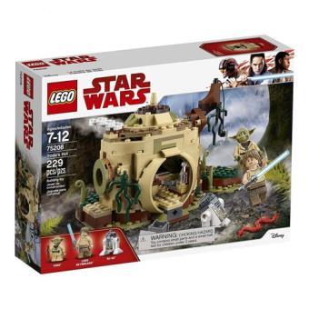 LEGO Star Wars 75208 A Cabana de Yoda
