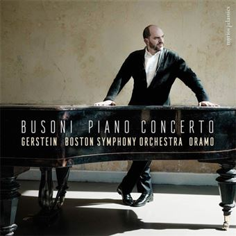 Busoni: Piano Concerto - CD
