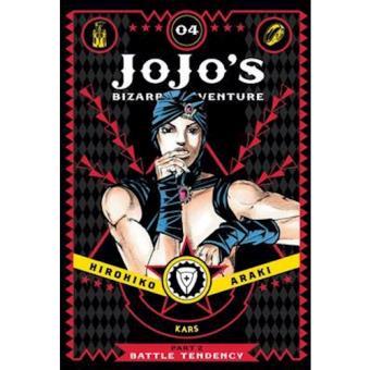 JoJo's Bizarre Adventure - Part 2: Battle Tendency - Book 4