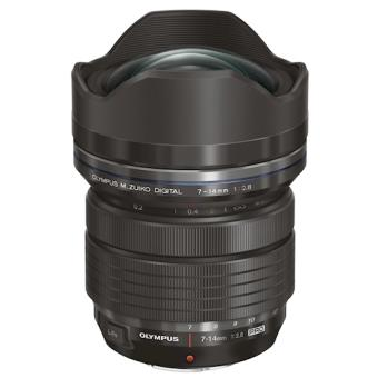 Olympus M.ZUIKO ED 7-14mm 1:2.8 PRO MILC/SLR Super wide lens Preto