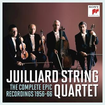 Juilliard String Quartet - The Complete EPIC Recordings - 11CD