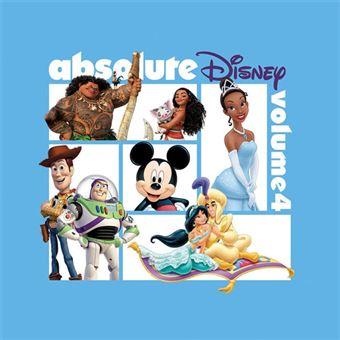 Absolute Disney Vol 4 - CD