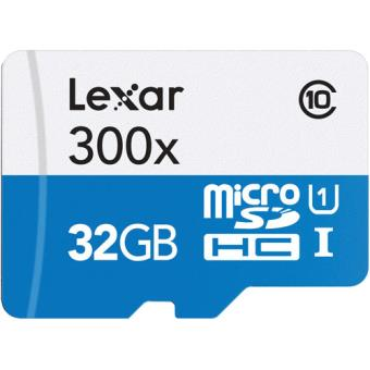 Cartão MicroSDHC Lexar High-Performance 300x - 32GB