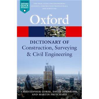 Dictionary of construction, surveyi