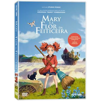 Mary e a Flor da Feiticeira - DVD