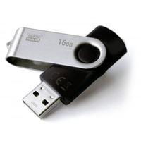 Pen USB 2.0 Goodram Twister - 16GB - Preto