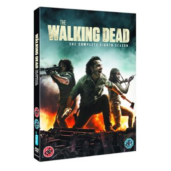 The Walking Dead - Season 8 - 5DVD - Importação