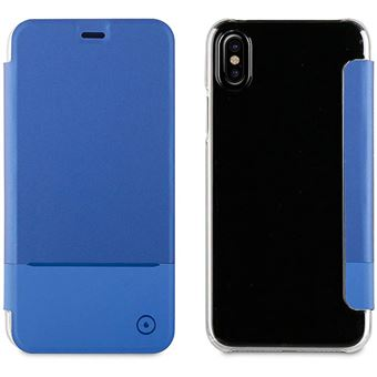 Capa Muvit Special Edition Transparent Back para iPhone X - Azul