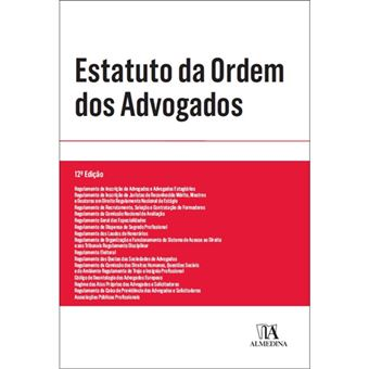 Estatuto da Ordem dos Advogados Texto Lei