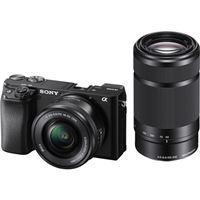 Sony Alpha a6100 + E PZ 16-50mm f/3.5-5.6 OSS + E 55-210mm f/4.5-6.3 OSS