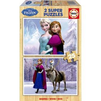 Puzzle Frozen (2x25)