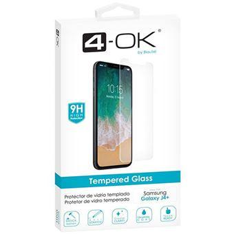 Película Ecrã Vidro Temperado 4-OK para Galaxy J4+