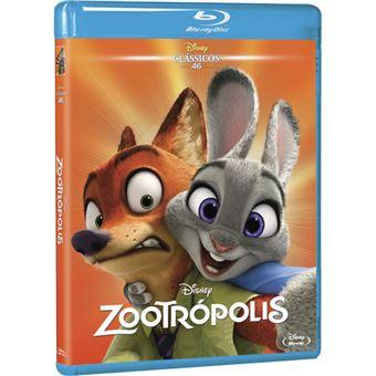 Zootropolis - Edição Clássicos Faces - Blu-ray