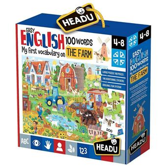 Easy English 100 Words: The Farm - Headu