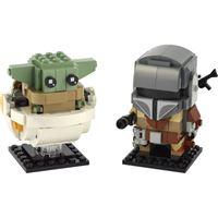 LEGO BrickHeads 75317 Star Wars O Mandalorian e a Criança