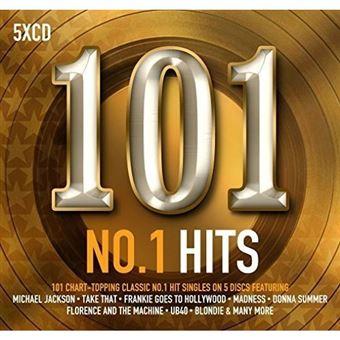 101 No.1 Hits - 5CD