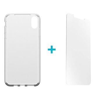 Película Ecrã Vidro Temperado Alpha Glass + Capa Otterbox para iPhone Xs Max - Transparente