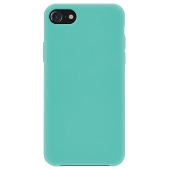 Capa 4-OK Silk Cover para iPhone 8 - Azul Turquesa