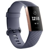 Pulseira Fitbit Charge 3 - BLUE-GREY | ROSE-GOLD