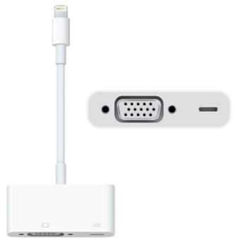 Apple Adaptador Lightning de VGA para iPad