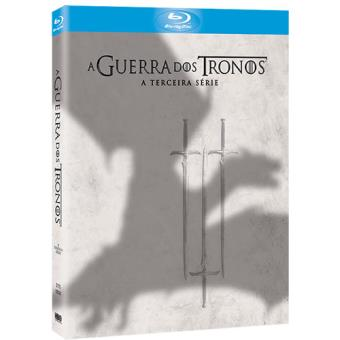 Guerra dos Tronos - 3ª Temporada - DVD - Game of Thrones Season 3