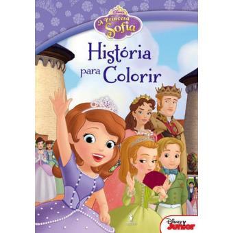 A Princesa Sofia Historia Para Colorir Disney Compra Livros