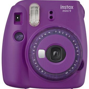 Fujifilm instax mini 9 - Púrpura - Clear Edition