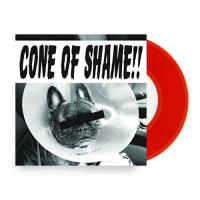 """Cone of Shame (7"""")(Red Vinyl)"""