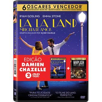 Pack 2 Filmes - La La Land: Melodia de Amor + Whiplash - Nos Limites (DVD)