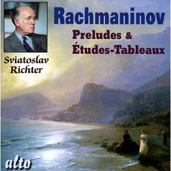 Rachmaninov-preludios Y Etudes Tabl