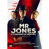 Mr. Jones: A Verdade da Mentira - DVD