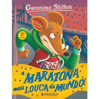 Geronimo Stilron - Livro 15: A Maratona Mais Louca do Mundo