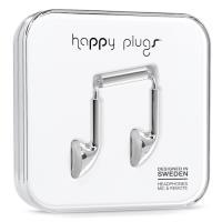 Happy Plugs 152602 Intra-auditivo Binaural Com fios Prateado auricular para telemóvel