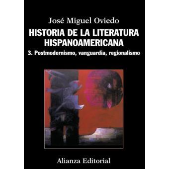 jose miguel oviedo historia de la literatura hispanoamericana 3 pdf
